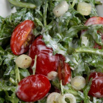 Rukolový šalát so cherry paradajkami