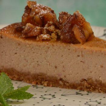 Gaštanový cheesecake