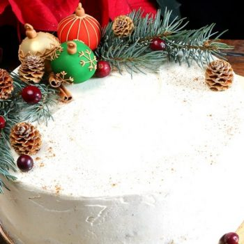 Vianočná punčová torta