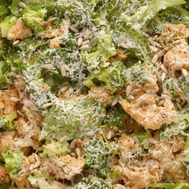 Batátové gnocchi s brokolicou a špenátom