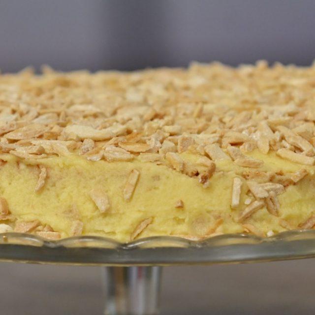 Švédska torta kráľa Oskara II.
